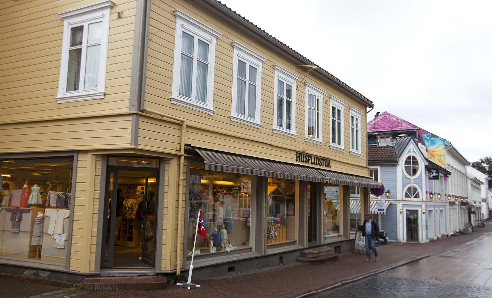 Husflidstua i Grimstad.