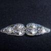 Gravert sølvspenne Lia Laget til Åmlibunad / Aust-Agder bunad
