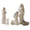 Nativity til Willow Tree julekrybbe